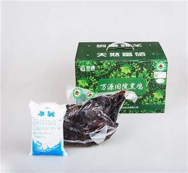万源旧院黑鸡冰鲜绿色食品1.5KG